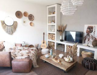 The #Boho #Livingroom  #Bohemian #BohemianVibe #Bloomingville #Housedoctor #Indian #Djembe #mijneigenhuisentuin #interiordesign #interieur #interieuraddict #MijnWestWingStijl