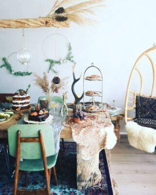 🌿#Bohemian #BirthdayParty🎂🥳 #Pampasgrass #Organic #Slowliving #Superfoods #Glutenfree #Sugarfree #Foodie #Healthy  #Foodporn #Foodart #Bakergram #vtwonenbijmijthuis #interior #interiordesign #interieur #styling